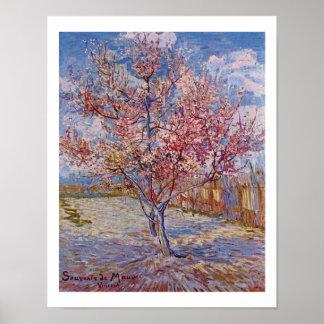 Van Gogh | Flowering Peach Trees | 1888 Poster