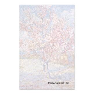 Van Gogh   Flowering Peach Trees   1888 Stationery