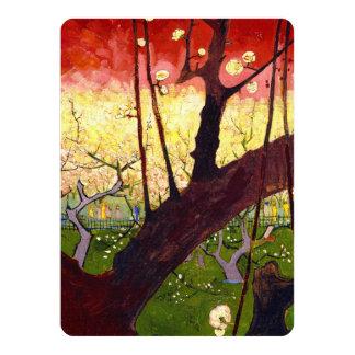 Van Gogh Flowering Plum Tree After Hiroshige 5.5x7.5 Paper Invitation Card