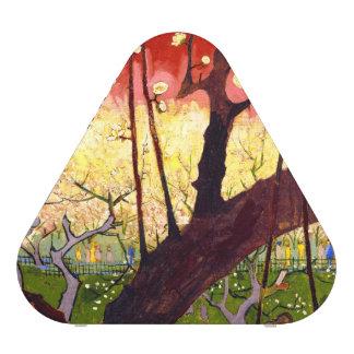 Van Gogh Flowering Plum Tree After Hiroshige Bluetooth Speaker