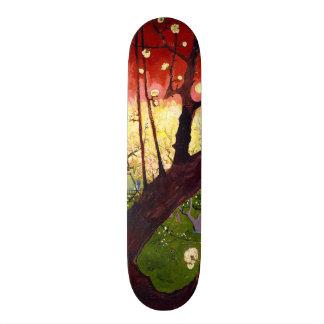 Van Gogh Flowering Plum Tree After Hiroshige Skateboard