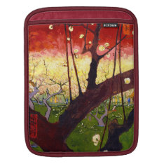 Van Gogh Flowering Plum Tree After Hiroshige Sleeve For Ipads at Zazzle