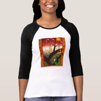 Van Gogh Flowering Plum Tree After Hiroshige T-Shirt