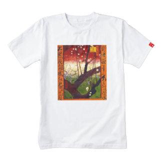 Van Gogh Flowering Plum Tree After Hiroshige Zazzle HEART T-Shirt