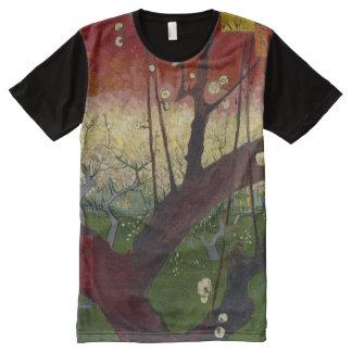 Van Gogh Flowering Plum Tree All-Over Print T-shirt