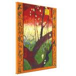 Van Gogh Flowering Plum Tree (Hiroshige) (F371) Canvas Print