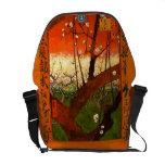 Van Gogh Flowering Plum Tree (Hiroshige) (F371) Messenger Bag