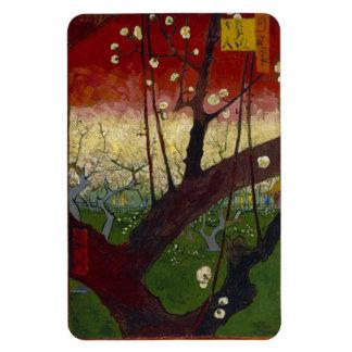 Van Gogh Flowering Plum Tree Magnet