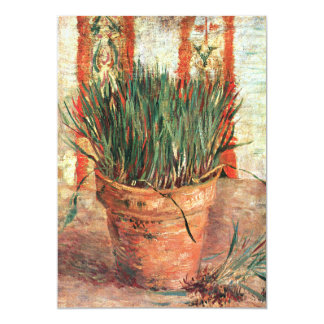 Van Gogh: Flowerpot with Chives Card