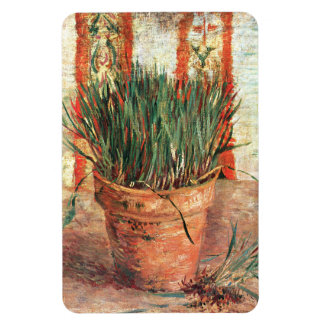 Van Gogh: Flowerpot with Chives Magnet