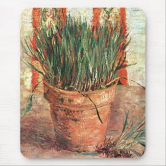 Vincent van Gogh: Flowerpot with Chives