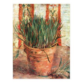 Van Gogh: Flowerpot with Chives Postcard