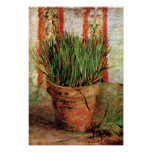 Van Gogh - Flowerpot With Chives Poster