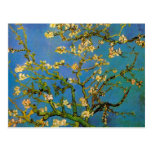 Van Gogh Flowers Art, Blossoming Almond Tree Postcards