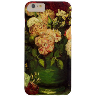 Van Gogh Flowers Art, Bowl with Peonies and Roses Barely There iPhone 6 Plus Case