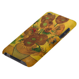 Van Gogh Flowers, Vase with 15 Sunflowers Case-Mate iPod Touch Case