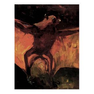 Van Gogh; Flying Fox (Still Life Bat) Postcard