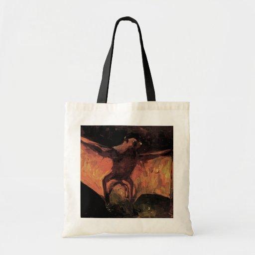 Van Gogh; Flying Fox (Still Life Bat) Tote Bag