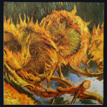 "Van Gogh: Four Sunflowers Cloth Napkin<br><div class=""desc"">Decoarte your table with beautiful classic still life napkins,  painted by the Dutch painter Vincent Willem van Gogh.</div>"