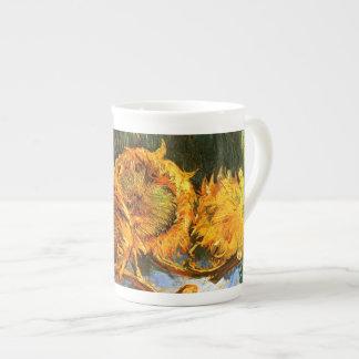 Van Gogh: Four Sunflowers Tea Cup