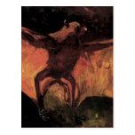 Van Gogh; Fox de vuelo (aún palo de la vida) Tarjeta Postal