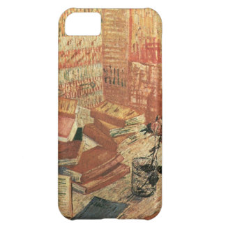 Van Gogh French Novels and Rose Case For iPhone 5C