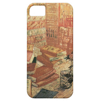 Van Gogh French Novels and Rose iPhone SE/5/5s Case