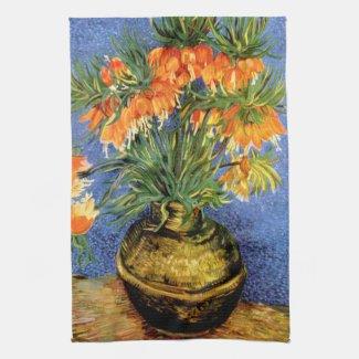 Vincent van Gogh: Fritillarias in Vase