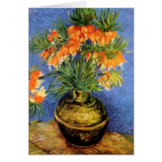 Van Gogh: Fritillarias in Vase Card