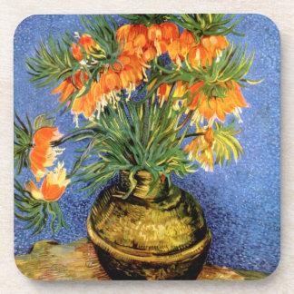 Van Gogh: Fritillarias in Vase Drink Coaster