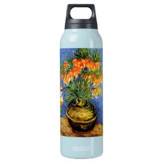 Van Gogh: Fritillarias in Vase Insulated Water Bottle