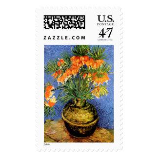 Van Gogh: Fritillarias in Vase Postage