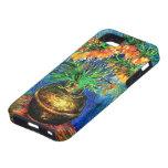 Van Gogh Fritillaries Copper Vase (F213) Fine Art iPhone 5 Cases