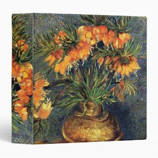 Van Gogh Fritillaries en un florero de cobre