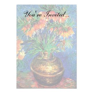 Van Gogh - Fritillaries In A Copper Vase Card