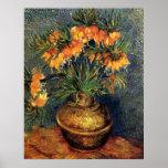 Van Gogh; Fritillaries in a Copper Vase Print