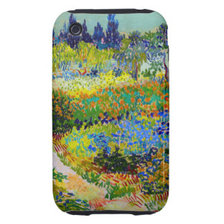 Van Gogh Garden at Arles iPhone 3 Tough Cover