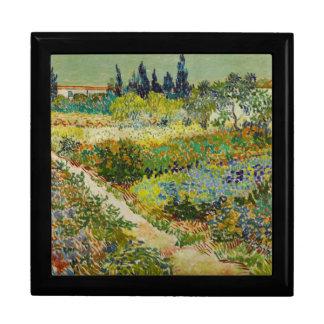 Van Gogh Garden at Arles Jewelry Box