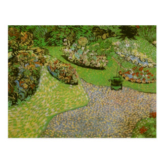 Van Gogh Garden in Auvers (F814) Postcard