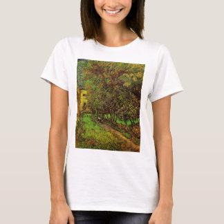Van Gogh Garden of Saint Paul Hospital, Fine Art T-Shirt