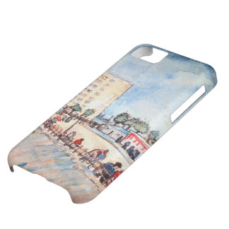 Van Gogh; Gate in Paris Ramparts, Vintage Fine Art iPhone 5C Case