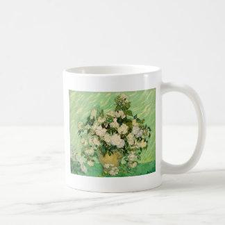 Van Gogh Gifts Still Life w/ Roses Impressionism Coffee Mug