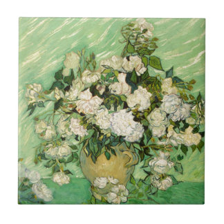 Van Gogh Gifts Still Life w/ Roses Impressionism Tiles