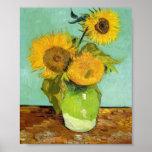 Van Gogh - girasoles Posters