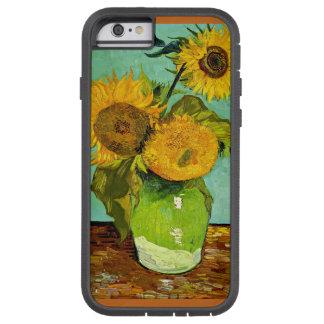 Van Gogh - girasoles, tres Funda Para iPhone 6 Tough Xtreme