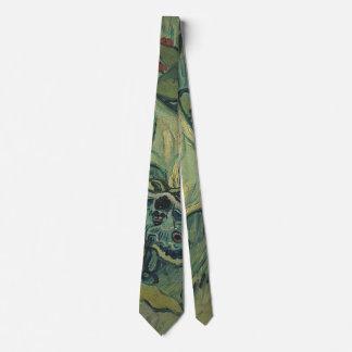 Van Gogh Green Peacock (Emperor) Moth, Fine Art Neck Tie