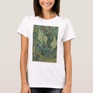 Van Gogh Green Peacock (Emperor) Moth, Fine Art T-Shirt