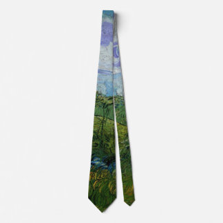 Van Gogh Green Wheat Fields, Vintage Fine Art Tie