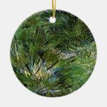 Van Gogh - grupos de hierba Ornamento De Reyes Magos