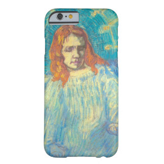 Van Gogh; Half Figure of an Angel, Vintage Art Barely There iPhone 6 Case